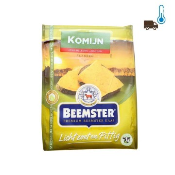 Beemster Komijn Plakken 125g/ Cheese Slices with Cumin