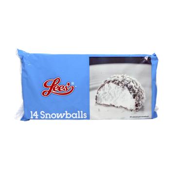 Lees Snowballs x14/ Bolitas de coco