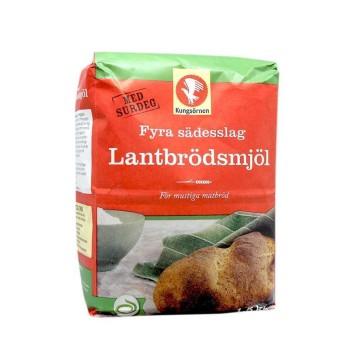Kungsörnen Lantbröds Mjöl 1,5Kg/ Four Cereals Flour