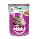 Whiskas 1+ Trout in Jelly 390g/ Lata para Gato Trucha