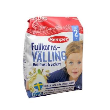 Semper Fullkornsvälling Frukt & Yoghurt 2 År 725g/ Papilla para Niño 2 Años