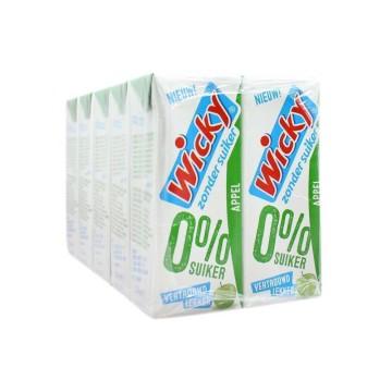 Wicky Appel 0% Suiker 25cl x10/ Zero Sugar Apple Drink