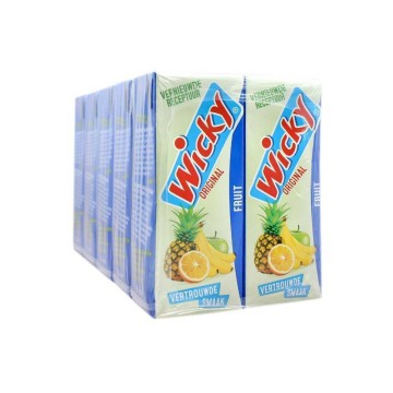 Wicky Original Fruit 25cl x10/ Bebida de Frutas