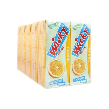 Wicky Original Sinaasappel 25cl x10/ Orange Drink