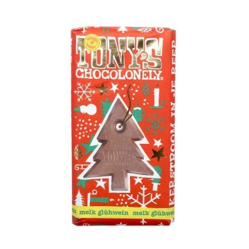Tony's Chocolonely Melk Glühwein 180g/ Christmas Wine Flavoured Chocolate Milk