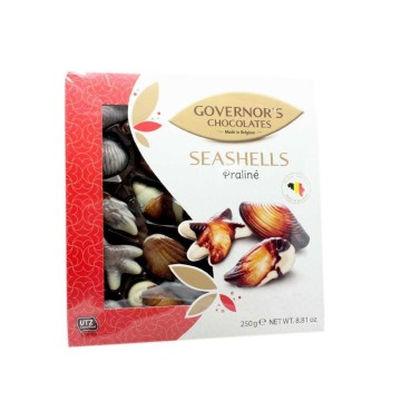 Governor's Chocolates Seashells Praliné 250g/ Bombones con Praliné