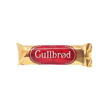 Nidar Marsipan Gullbrød 65g/ Chocolatina Mazapán