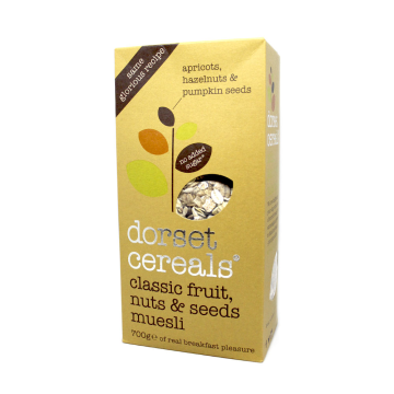 Dorset Cereals Fruit, Nuts & Seeds Muesli 700g/ Cereales con Frutos y Semillas