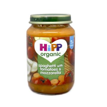 Hipp Spaghetti with Tomatoes & Mozzarella 7+ 190g/ Potito Pasta con Tomate y Queso