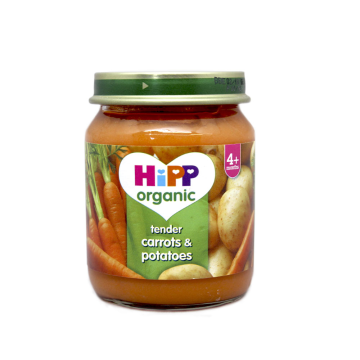 Hipp Organic Tender Carrots & Patatoes 4+ 125g