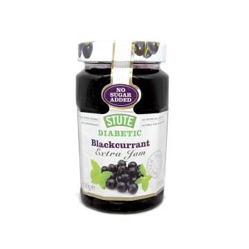 Stute Diabetic Blackcurrant Extra Jam 430g/ Mermelada Grosellas Negras Diabéticos