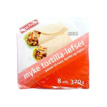 First Price Myke Tortilla-Lefser x8 320g/ Mexican Tortillas