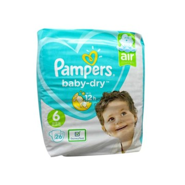 Pampers Baby-Dry nº6 / Pañales Talla 6 x26