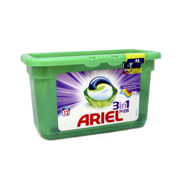 Ariel Liquitabs 3 in 1 Color x12
