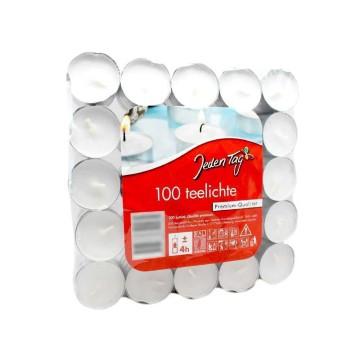 Jeden Tag Teelichte x100/ Candles