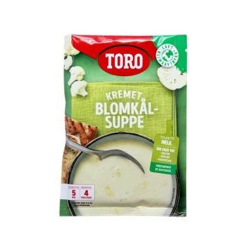 Toro Kremet Blomkålsuppe 65g/ Cauliflower Soup with Cream