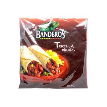 Banderos Tortilla Wraps x8/ Tortillas Mexicanas