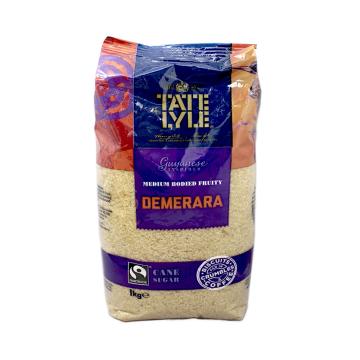 Tate & Lyle Demerara Cane Sugar 1Kg/ Azúcar de caña Demerara