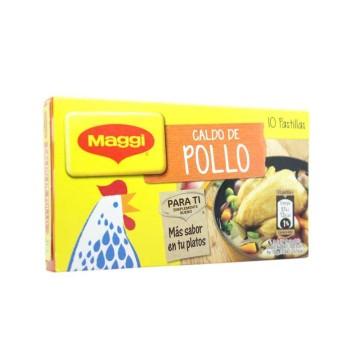 Maggi Caldo de Pollo Pastillas x10/ Chicken Stock Cubes