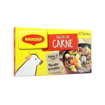 Maggi Caldo de Carne Pastillas x10