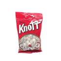Nidar Knotts 90g/ Liquorice and Mint Candies Mix