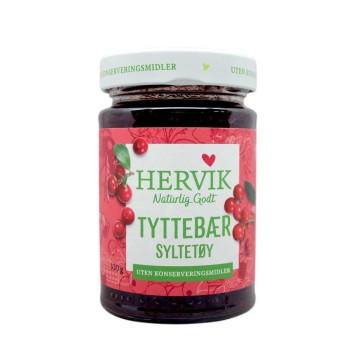 Hervik Tyttebærsyltetøy 400g/ Cranberry Jam