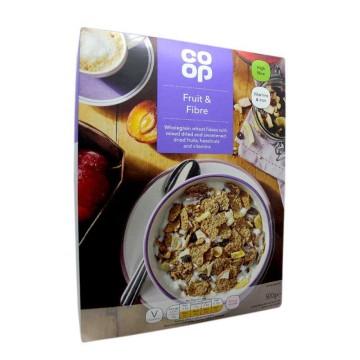 Coop Fruit & Fiber Cereals 500g/ Cereales Fruta y Fibra