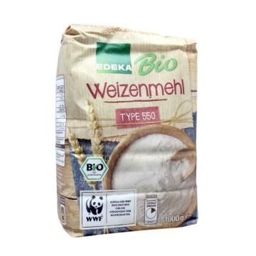 Edeka Bio Weizenmehl Type 550 1Kg/ Wheat Flour