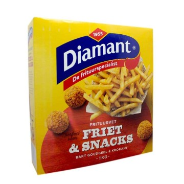 Diamant Original De Frituurspecialist 4x250g/ Vegetable Oil to Fry