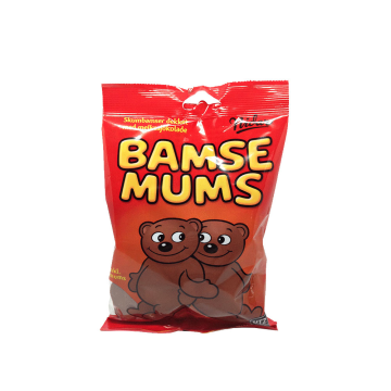 Nidar Bamsemums Marshmallowy 125g/ Chocolate and Marshmallow Bears