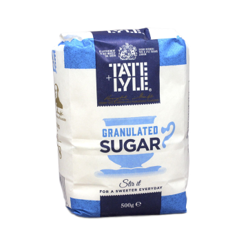 Tate & Lyle Granulated Sugar 500g/ Azúcar Blanco