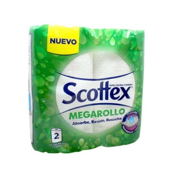 Scottex Megarollo Papel de Cocina x2/ Paper Towels