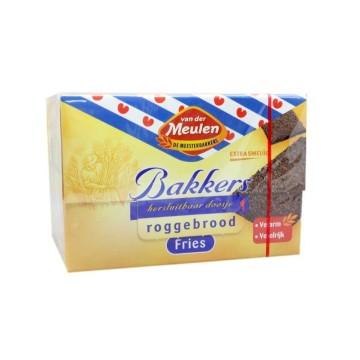 Van der Meulen Bakkers Roggebrood Fries 500g/ Rye Bread