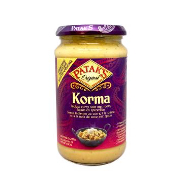 Patak's Korma Saus 450g/ Salsa Korma