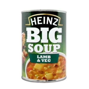 Heinz Big Soup Lamb & Veg 400g/ Sopa Cordero y Vegetales
