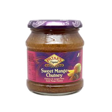 Patak's Sweet Mango Chutney 340g/ Mango Agridulce