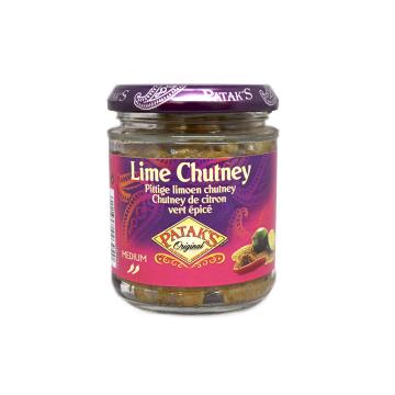 Patak's Lime Chutney 170g/ Lima Agridulce