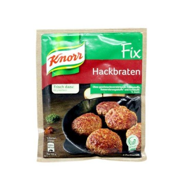 Knorr Fix Hackbraten 78g/ Spice Mix for Burgers
