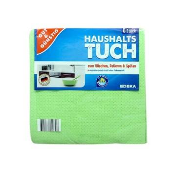 Gut&Günstig Haushalts Tuch x6/ Bayetas para Fregar