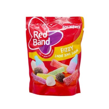 Red Band Snoepmix Fizzy Zacht Zoet Zuur 260g/ Sour Gummies
