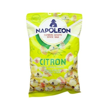 Napoleon Citron Kogels 225g/ Sour Lemon Candies