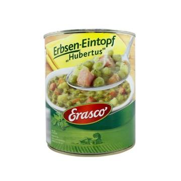 Erasco Erbsen-Eintopf Hubertus 800g/ Estofado de Guisantes