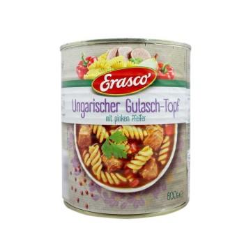 Erasco Ungarischer Gulasch-Topf 800g/ Gulasch Stew with Pasta