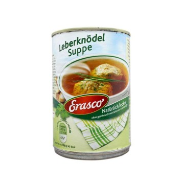 Erasco Leberknödel Suppe 395ml/ Liver Dumpling Soup