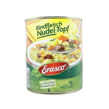 Erasco Rindfleisch Nudel-Topf 800g/ Beef Stew with Pasta