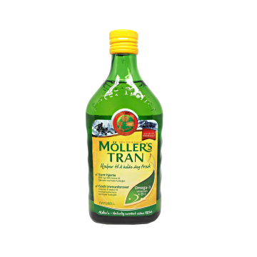 Möller's Trans Naturell 500ml/ Aceite Bacalao Natural