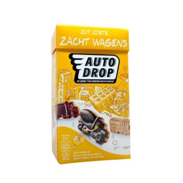 Autodrop Zacht Wagens 225g/ Mix Sweet Licorice