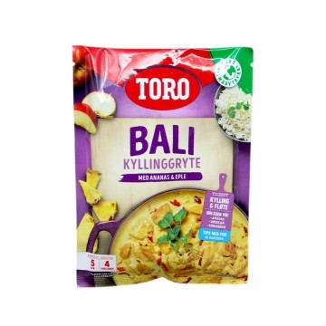 Toro Bali Kyllinggryte 71g/ Bali Chicken Pot