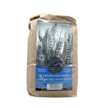Bacheldre Watermill Stoneground Strong Unbleached White Flour 1,5Kg/ Harina para hacer Pan