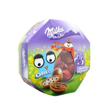 Milka Eier Mixbox 144g/ Mix de Huevos de Chocolate